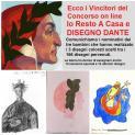 """""""Resto a casa e disegno Dante"""", l'iniziativa del Sinus Formianus"""