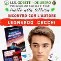 """""""Giovani che s' incontrano"""", incontro con il giovane scrittore e attore Leonardo Cecchi"""