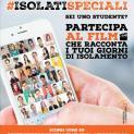 #Isolatispeciali: i giovani creano il social movie che racconta la loro quarantena